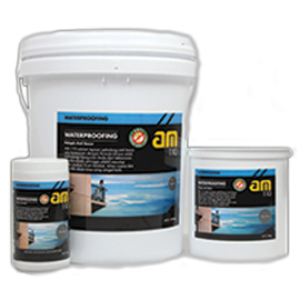 BPI AM 110 WATERPROOFING STONE BLACK 4KG