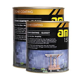 BPI AM 151 STONE COATING-GLOSSY 1L